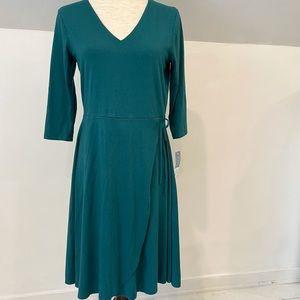 NWT Blue Canoe organic cotton tie dress size M